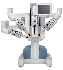 The da Vinci Surgical robot